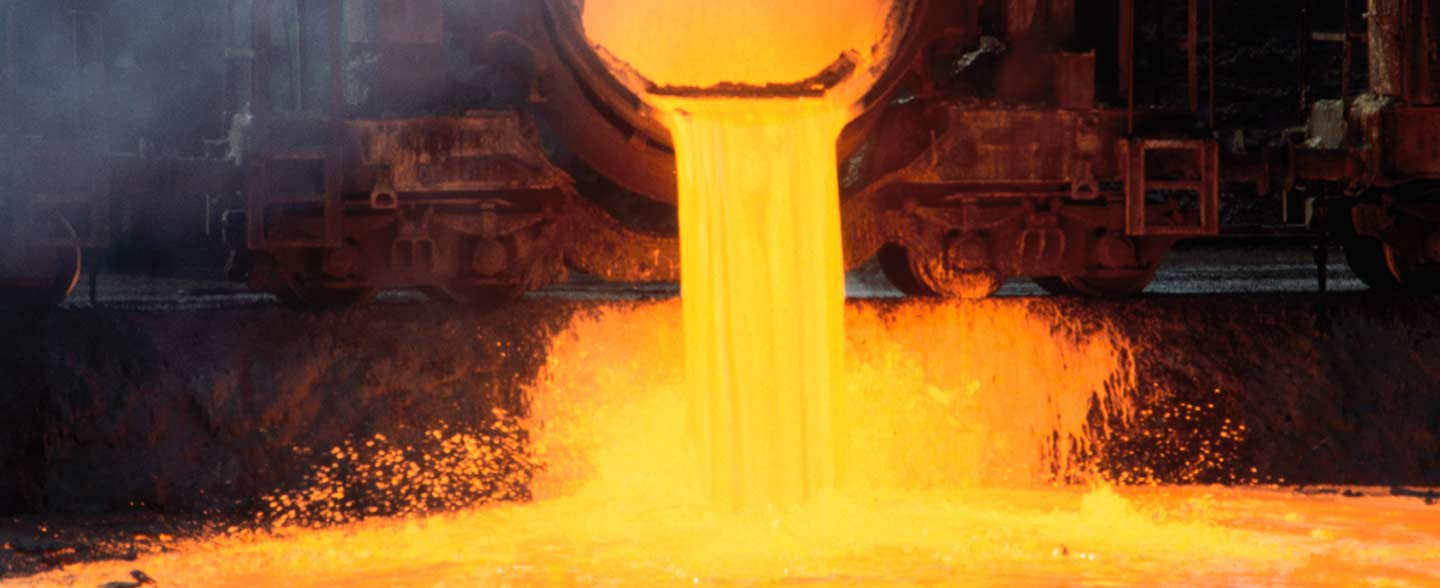 Blastfurnacepouringmoltensteel, mineral processing, manufacturing execution system